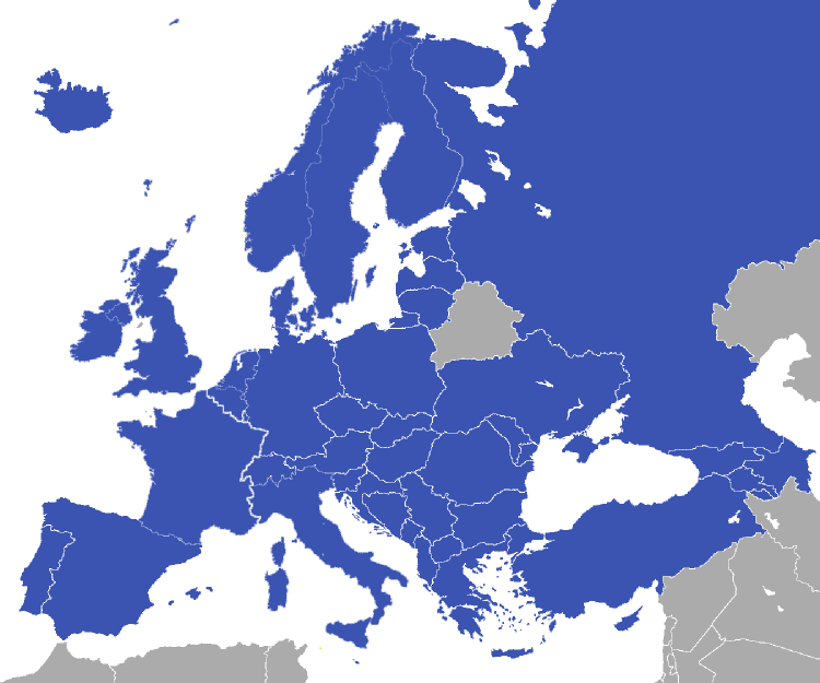 Conscription status in Europe